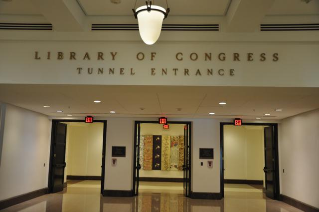 O Túnel que sai do Capitólio e leva à biblioteca do Congresso