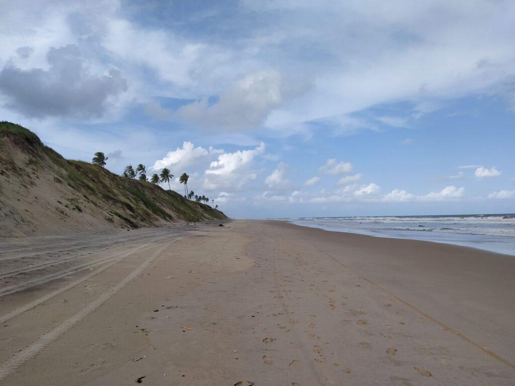 De Aracaju a Salvador pelo litoral: Massarandupió